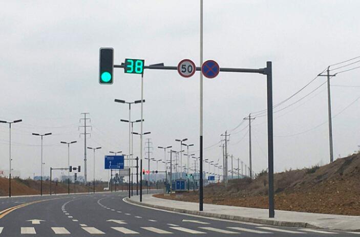 交通信號燈 交通信號機桿件 信號燈桿 紅綠燈桿 龍門架 倒計時 顯示器