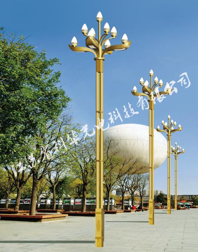 LED中華燈玉蘭燈8米市政工程廣場公園戶照明景觀燈定制