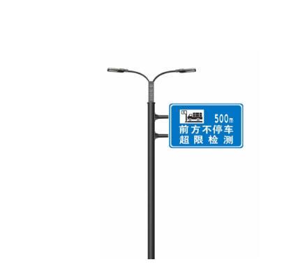 雙面誘導屏桿 高速路跨 標志桿 指路牌 框架信號燈 智慧路燈 電警桿