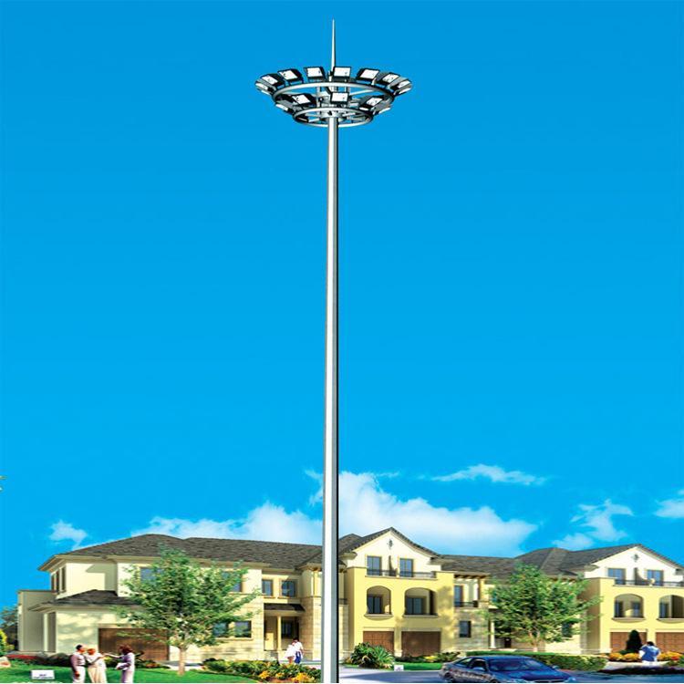 球場廣場led投光燈高桿燈 可升降式24 25 30米高桿燈