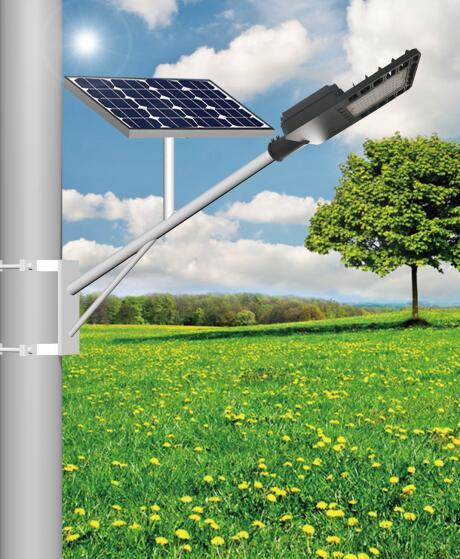 二体化太阳能路灯
